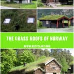 Real Grass Roofs Of Norway