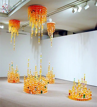 Chemical Balance: Made With Thousands Of Empty Pill Bottles Recycled Art Recycled Packaging