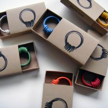 Electric Love: Ring Made From Reclaimed Electric Wires