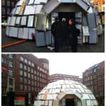 Igloo Made Out Of 322 Discarded Fridges