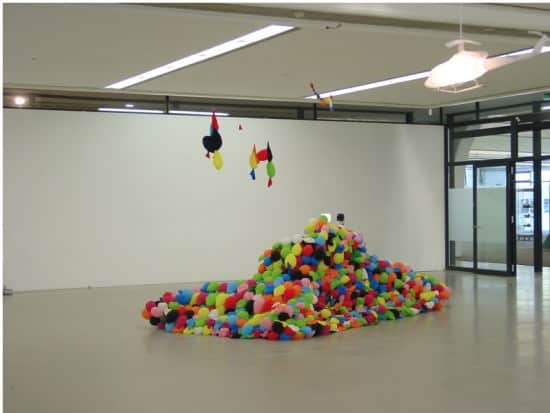 Balloon Tank Interactive, Happening & Street Art Recycled Art