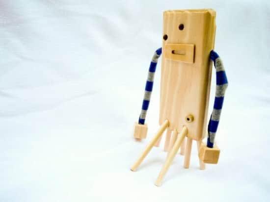 Wooden Robots Wood & Organic