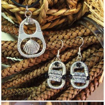 Upcycled Can Tabs Into Jewelry