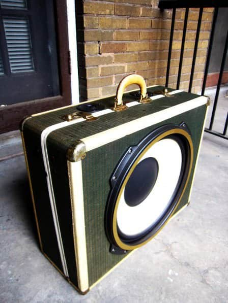 Boom Cases From Upcycled Suitcases Accessories Recycled Electronic Waste