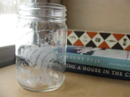 Jar Glass Etching