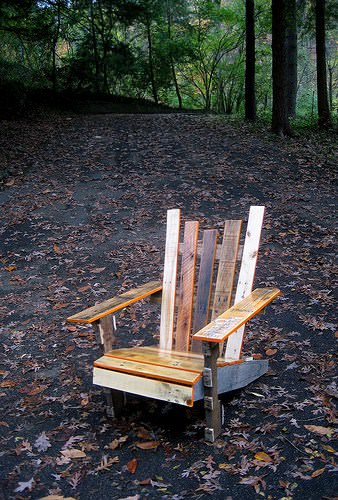 Diy: Pallet Adirondack Chair Recycled Furniture Recycled Pallets
