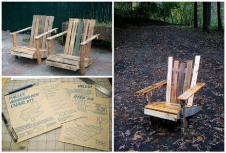 Diy: Pallet Adirondack Chair
