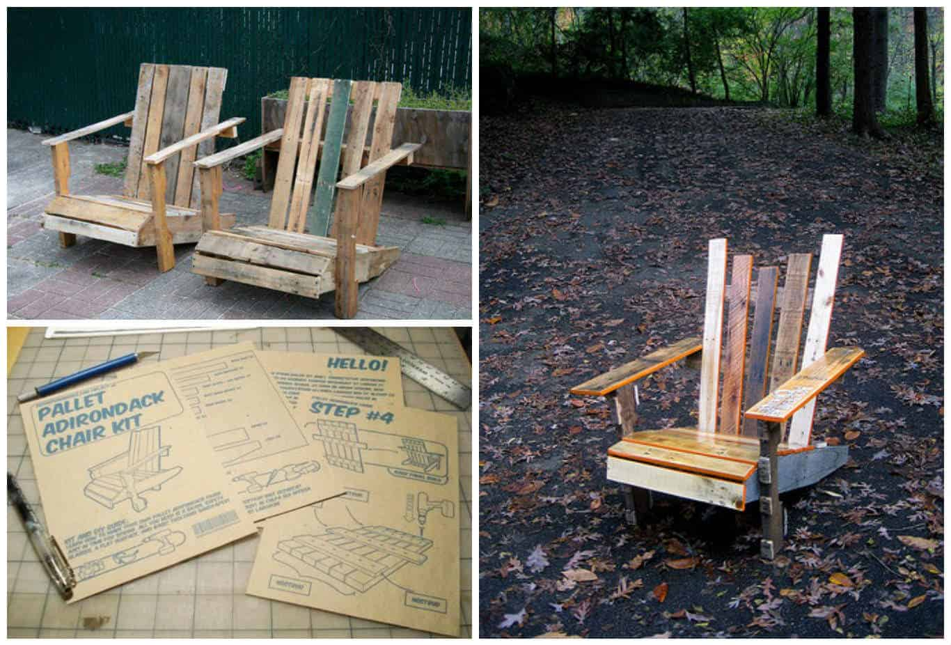 Diy: Pallet Adirondack Chair • Recyclart