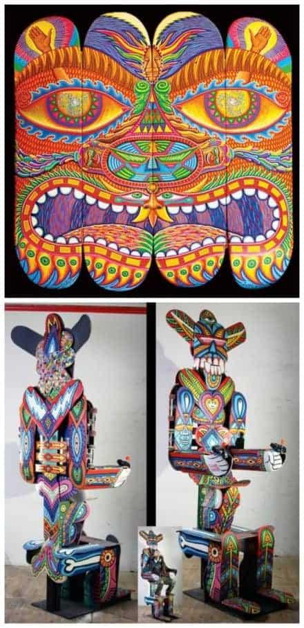 Peruvian Skateboard Art