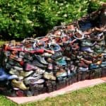 Disused Shoes Sculpture