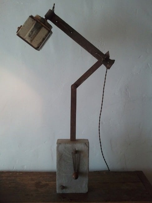 Upcycled Coffee Grinder Lamp Lamps & Lights