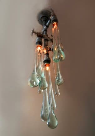 Liquid Lights Lamps & Lights Recycled Glass