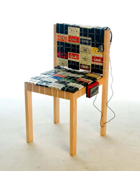 Cassette Tapes Chair