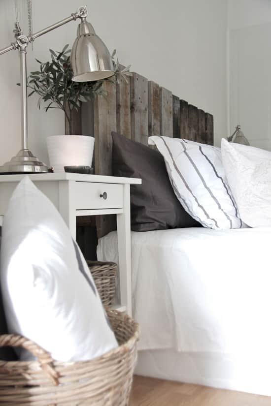 Repurposed Pallet Headboard Recycled Pallets