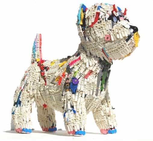 Robert Bradford 3d Plastic Sculptures
