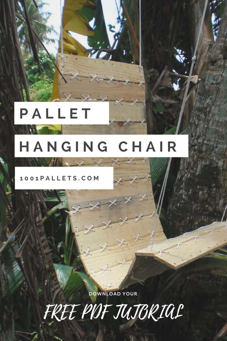 Pallets Outdoor Chair • Recyclart