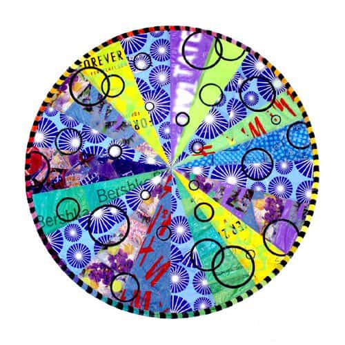 Plastic Bag Mandalas Accessories Recycled Art Recycled Plastic