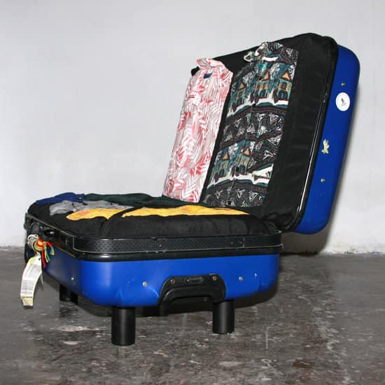 Upcycled Suitcase Sofa Do-It-Yourself Ideas Recycled Furniture