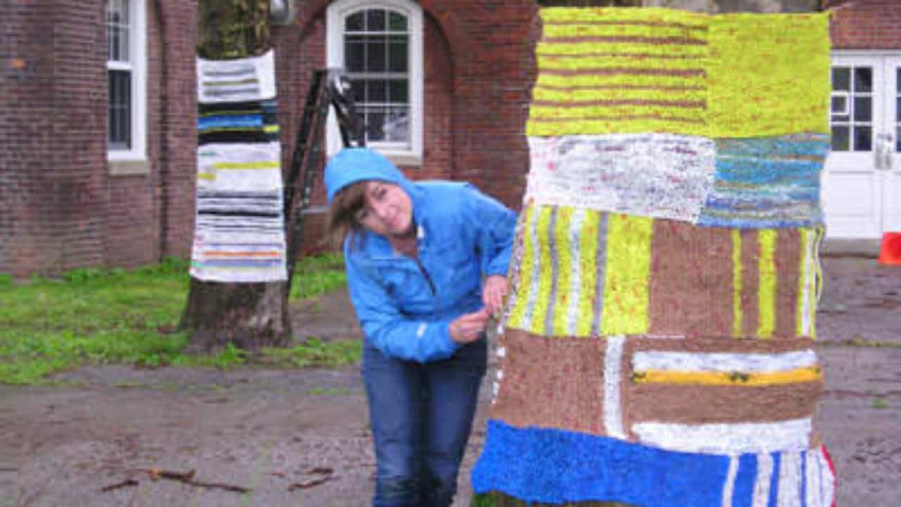 Knit For Trees ! • Recyclart