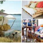 Sofas Made From Repurposed Pallets