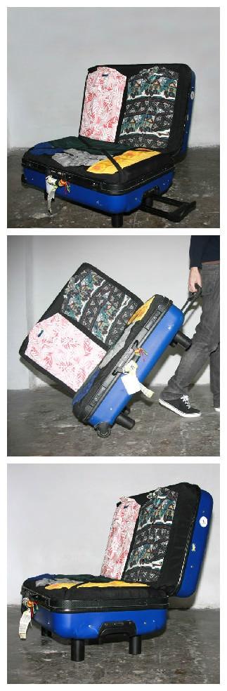 Upcycled Suitcase Sofa