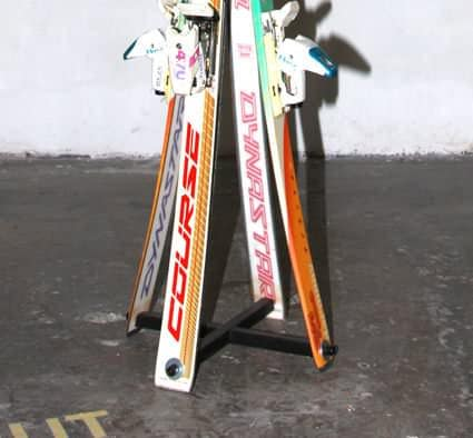 Ski Coat Rack Accessories Recycled Sports Equipment