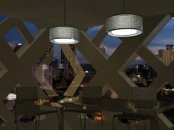 Tetrabox Lamp Lamps & Lights Recycled Packaging