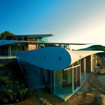 Boeing 747 wing house