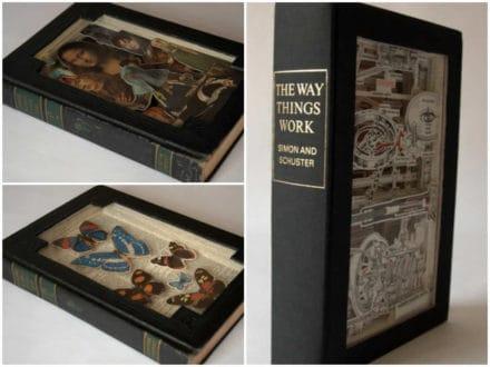 Hokey Stokes!  Book Carvings!
