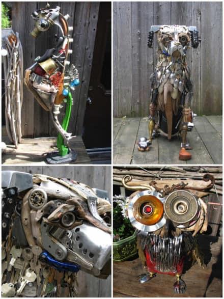Sculptures by Nathalie Trepanier