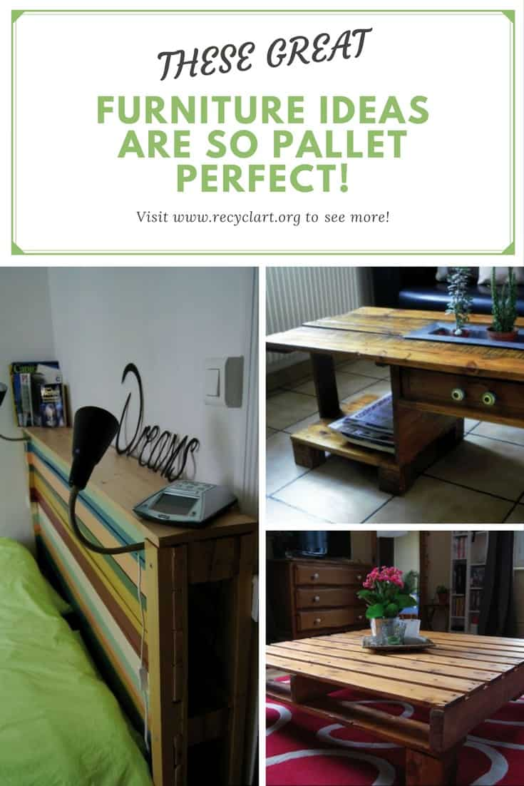 These great pallet furniture ideas are so pallet perfect for Great pallet ideas