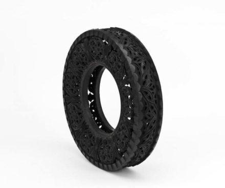 Car Tires Art