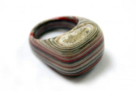 Rings for Women from Recycled Paper