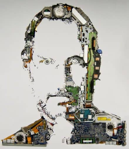 Digital Steve Jobs Portrait