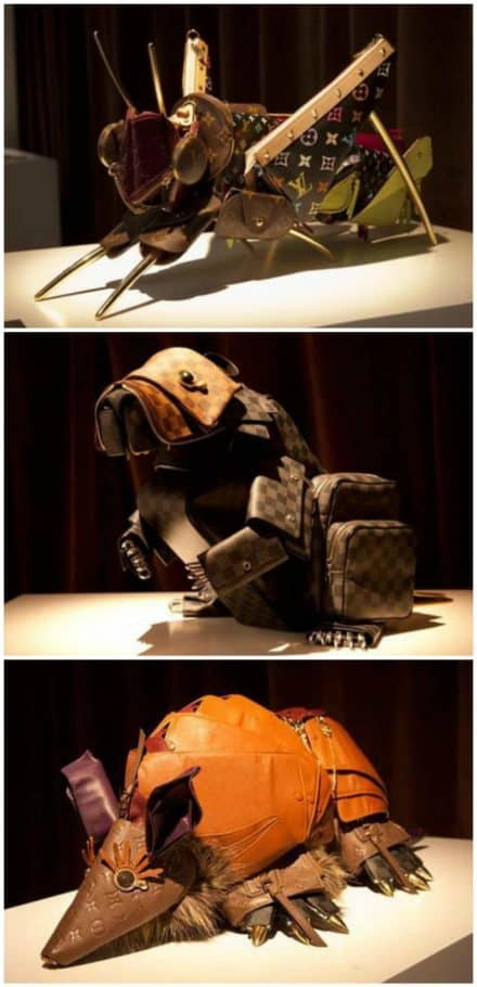 Leather Menagerie For Louis Vuitton