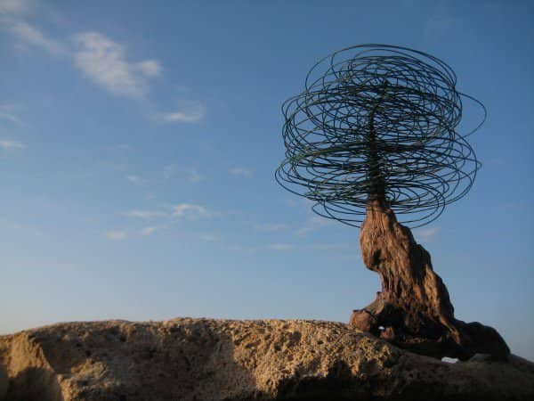 Cable Tree… Recycled Art