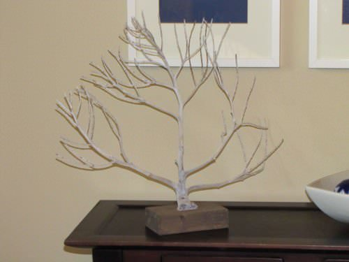 Diy Sea Fan From Palm Flower Stalk Do-It-Yourself Ideas Recycled Art