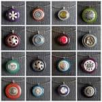 Vintage Buttons Into Pendants