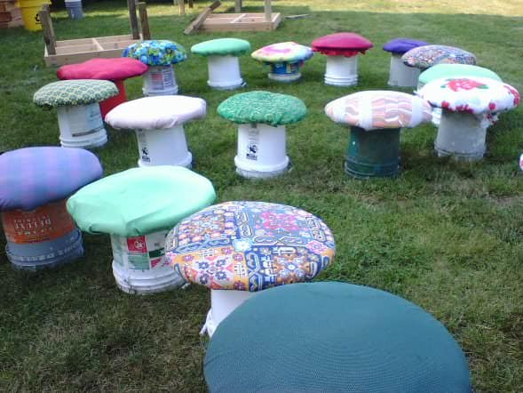 Maryland Faerie Festival Mushrooms Interactive, Happening & Street Art