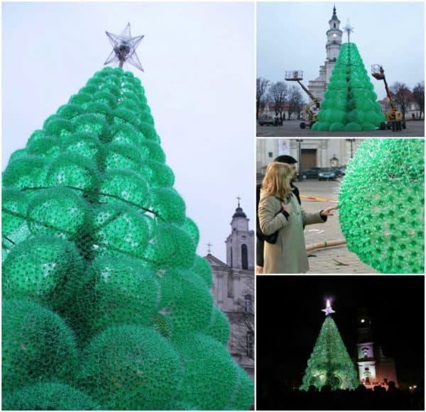Recycled Christmas Decor Using Plastic Bottles The Decor Of Christmas