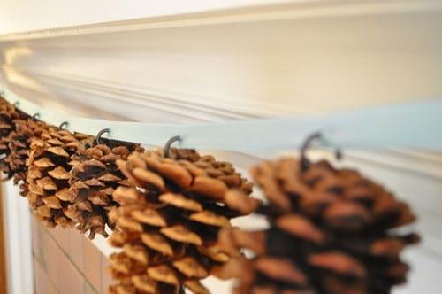 Diy: Pine Cones Garland Do-It-Yourself Ideas Wood & Organic