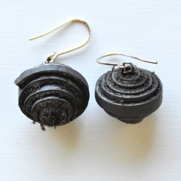 Leather Earrings Accessories Upcycled Jewelry Ideas