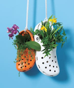 Crocs Garden Garden Ideas Recycled Plastic