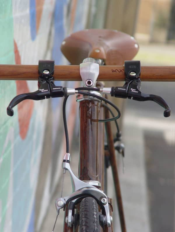 Wood Grain Are You Insane? Upcycled Bicycle Parts