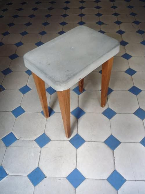 Refurbished Stool Recycled Furniture