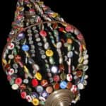 Bottle Caps Victorian Chandelier