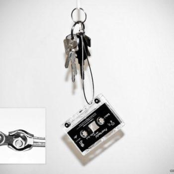 Tape Key Ring