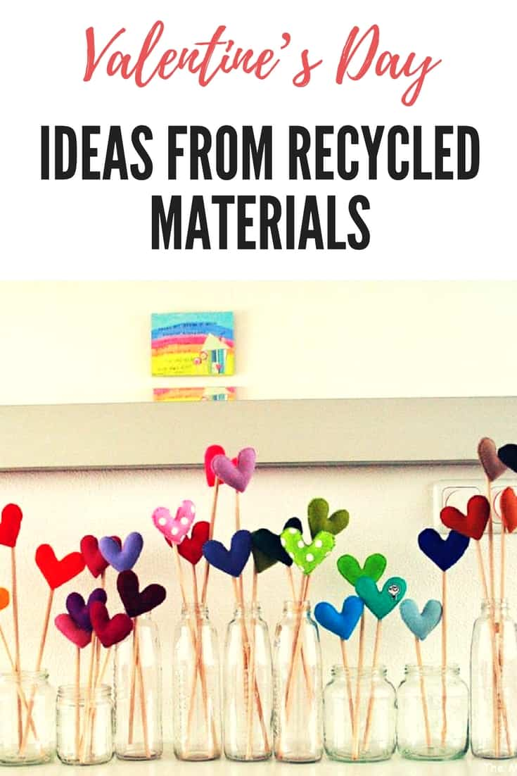 Valentine\'s Day Ideas from Recycled Materials • Recyclart