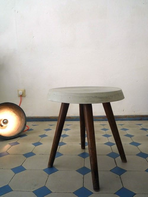 Refurbished Stool • Recyclart