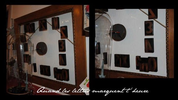 Vintage Framed Clock Accessories